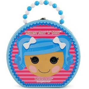 Lalaloopsy Round Tin Carry All Hatbox